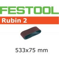 Brusný pás L533X 75-P100 RU2/10