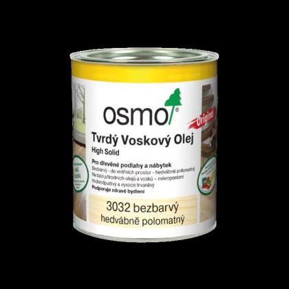 3032 Tvrdý voskový olej, hedvábný polomat 0,375 l