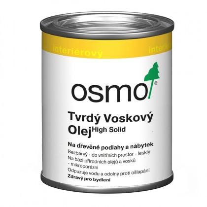 3062 Tvrdý voskový olej, Mat 0,125 l