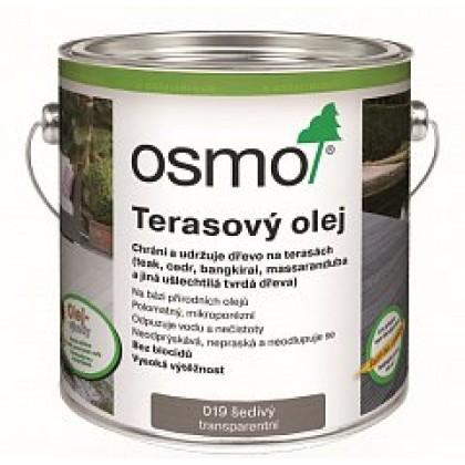 019 Terasový olej Šedý 2,5 l