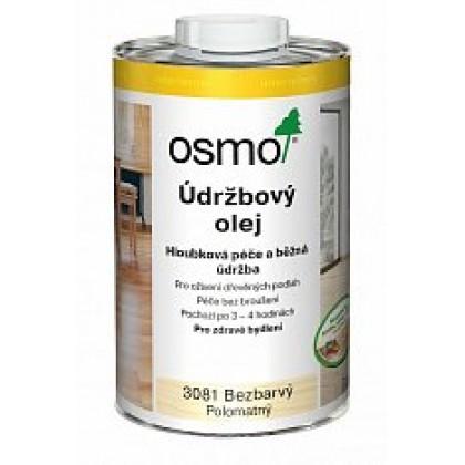 3079 Údržbový olej/bezbarvý mat 5 l